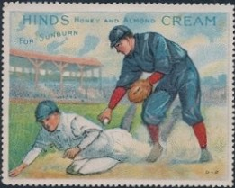 1915 Hinds Stamp Baseball