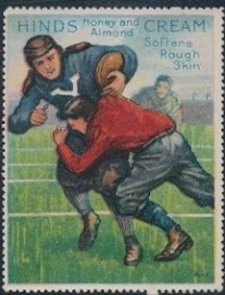 1915 Hinds Stamp Football
