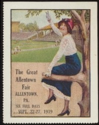 1919 Allentown Fair Stamp