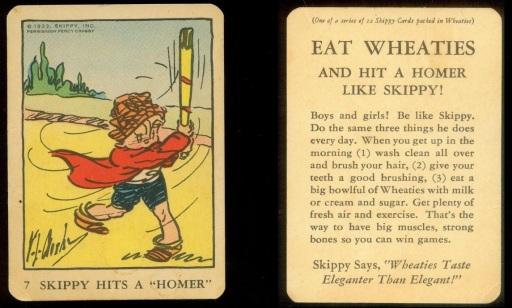 1933 Skippy Wheaties