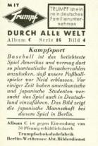 1933 Trumpf Chocolate Back