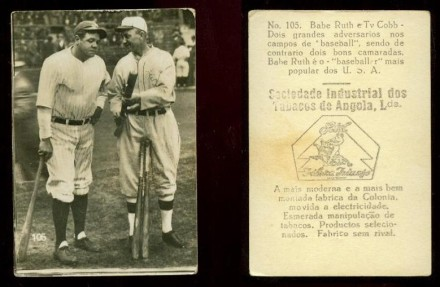 Babe Ruth and Ty Cobb Sociedade Industrial Angola