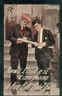 Contiero Babe Ruth Harold Lloyd