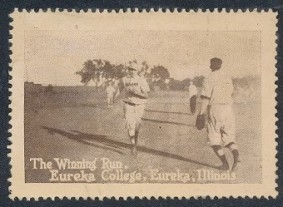 Eureka College Stamp