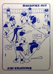Baseballitis Game Card