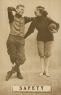1910 Colonial Art Publishing Company Football Postcards