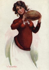 Austen Bernardt College Football Postcard.jpg