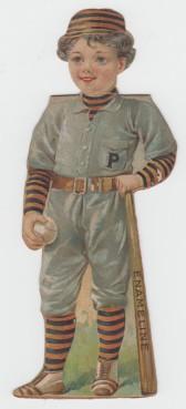 Enameline Baseball Paper Dolls