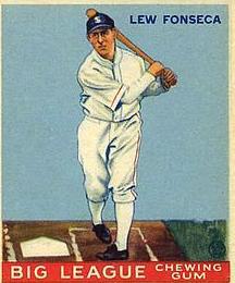 Lew Fonseca 1933 Goudey