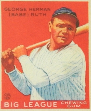 Ruth 1933 Goudey Red