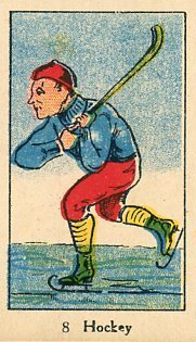 W542 Hockey Strip Card