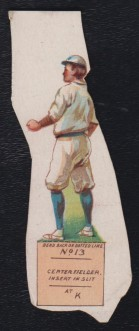 1898 Baltimore Americans National Game Base Ball Supplement Piece