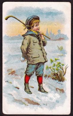 Bufford Hockey Boy Trade Card (903)