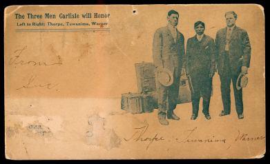 Jim Thorpe Carslisle Honorees Postcard