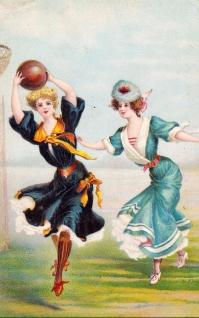 Jules Macors Basketball Women Trade Card (1900s)