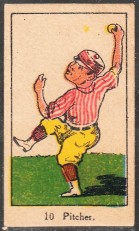W542 1920s Strip - Pitcher