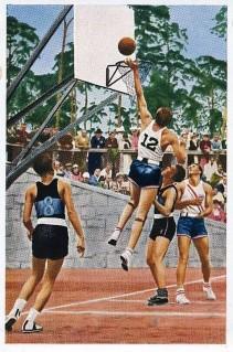 1936 Muhlen Franck Olympia Set - USA Basketball