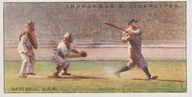 Babe Ruth Churchman Top NEW