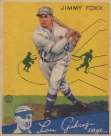 Foxx 1933 Goudey