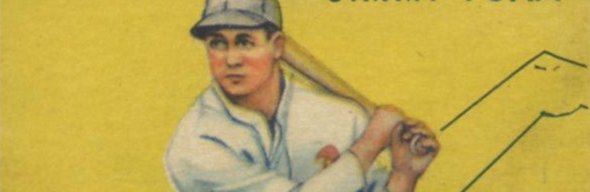 1934 Goudey Jimmie Foxx Is One Poor Card Pre War Cards