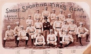 1888 Sporting Times Giants