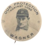 1904 Our Protection Against Loss Pin Wagner