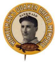1909 Winkelman's Quaker Bread Pin Baerwald
