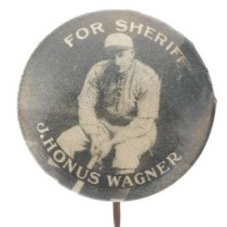 1929 Allegany County Wagner for Sherrif Pin