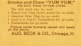 Yum Yum - August Beck and Company Back 1893