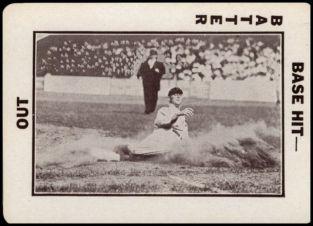 13TB A4 Sliding Umpire Behind Cobb