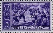 1939 Baseball Centennial Stamp
