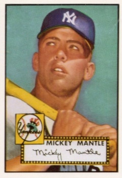 Mantle 1952 Topps