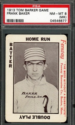 1913 Tom Barker Game - Home Run Baker Fenway Breweries - Copy