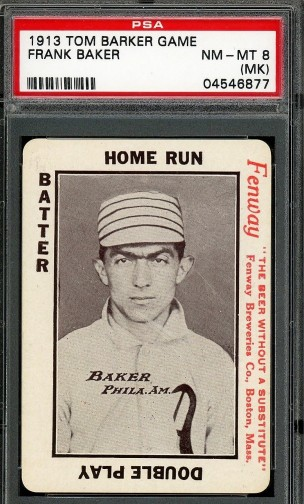 1913 Tom Barker Game - Home Run Baker Fenway Breweries - Copy