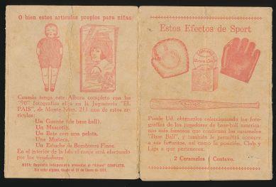 1930 Baguer Chocolates Album 1