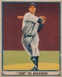 1941 Play Ball Joe DiMaggio