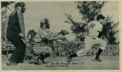 DiMaggio 1936 National Fine Pen Rookie