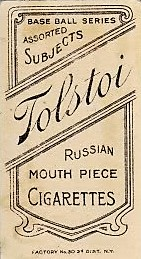 Tolstoi T206 Back