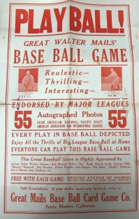Walter Mails Game Poster