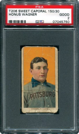 Honus Wagner PSA 2 eBay Auction (2)