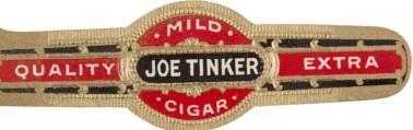 Joe Tinker Cigar Band