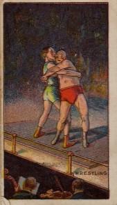 1917 Village Maid Wrestling