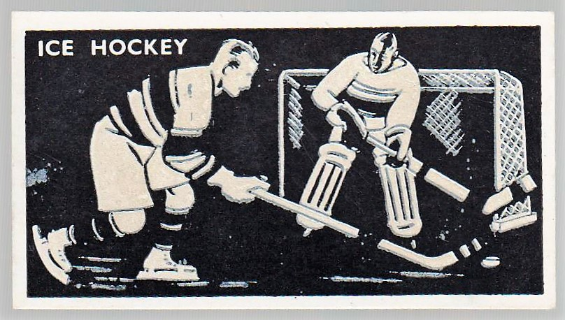 1938 Bocnal Silhouettes Ice Hockey