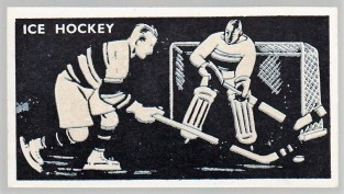 1938 Bocnal Silhouettes Ice Hockey