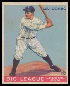 Gehrig 1933 Goudey