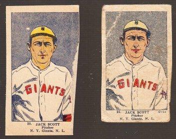 Jack Scott W515 strip cards