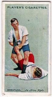 Players Wrestling and Ju-Jitsu 2