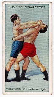 Players Wrestling and Ju-Jitsu