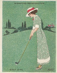 1913-14 Richmond Artistic Pictures Golf T32