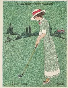 1913-14 Richmond Artistic Pictures Golf T32